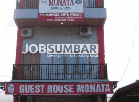 Lowongan Kerja Padang Hotel Monata Terbaru