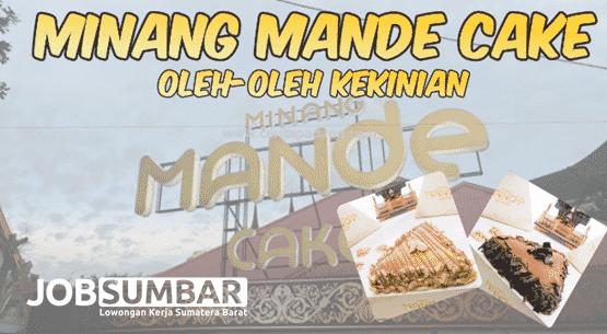 Lowongan Kerja Padang PT. Minang Boga Mandiri Minang Mande Cake