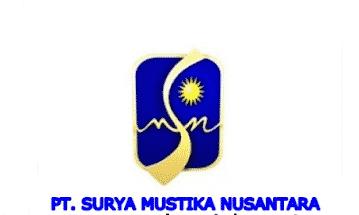 Lowongan Kerja Padang PT. Surya Mustika Nusantara Terbaru